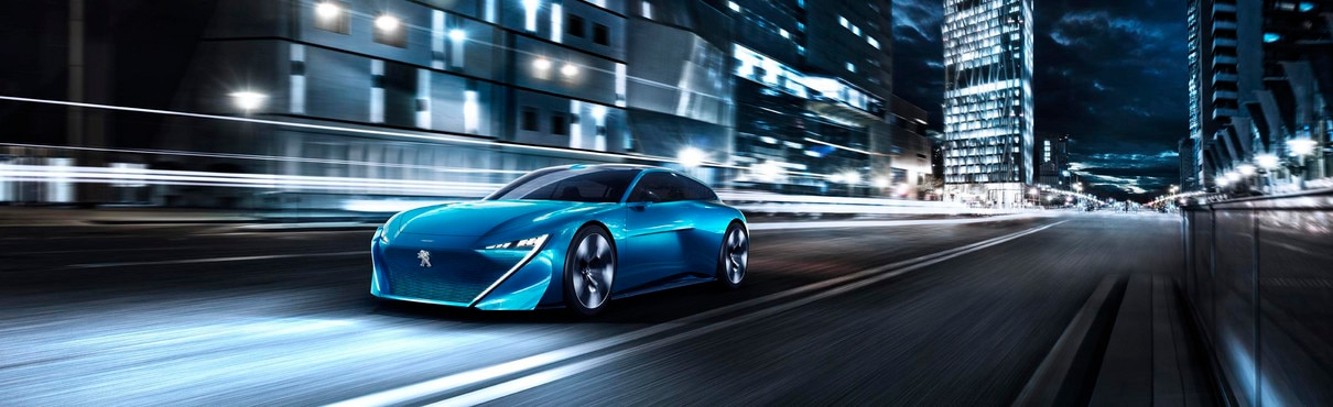 Marque et Technologie Peugeot - Instinct Concept